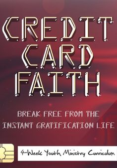 Credit Card Faith Youth Curriculum – Children's Ministry Deals #creditrepairin3weeks