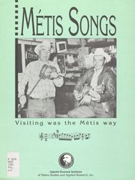 Metis Song: Visiting was the Métis Way, by Lynn Whidden, Regina: Gabriel Dumont Institute, 1993.  Because illiteracy was widespread in Métis communities in past generations, an oral storytelling tradition was used-much like other Aboriginal societies-to transmit Métis culture and history.  Stories are to the Métis what books and documents are to European-based societies...
