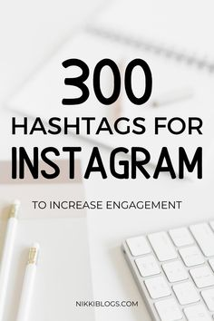 Find 300 top hashtags for Instagram pictures in over a dozen popular niches! This guide features trending hashtags to help your Instagram posts rank in search results. Pin this for reference! #instagram #instagramtips #hashtags #instagramideas #socialmedia Best Instagram Hashtags, Find Instagram, Instagram Marketing Tips, Instagram Tips, Instagram Insights, Instagram Quotes, Instagram Posts, Social Media Tips, Social Media Marketing