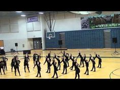 Copper Hills High School Drill Team: Military Routine 2012-2013