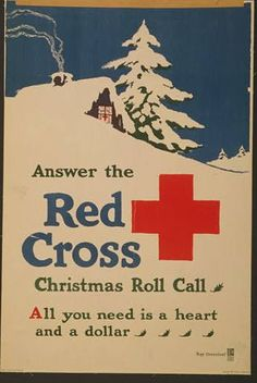 Cartel de la Cruz Roja