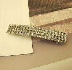 1X  85mm Diamond Hair Clip Charms Pendant Y771