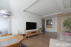 [시공사례] 철산 두산위브 / 24평 / 구정 브러쉬골드 애쉬브라운 / 따뜻한 우드 포인트 인테리어 / interior by 카멜레온 디자인 : 네이버 블로그 Contemporary Design, Oversized Mirror, Bedroom, Interior, House, Furniture, Home Decor, Room, Homemade Home Decor
