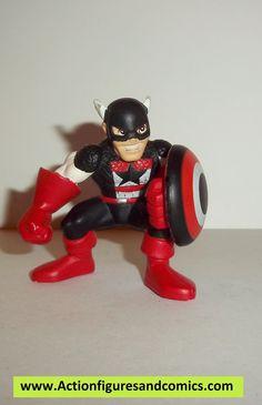 Marvel Super Hero Squad US AGENT captain america complete pvc action figures