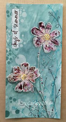 Kay's Crafty Corner: Another Demo Panel!