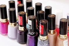 revlon nail polish  Blizzard Berry Sheer