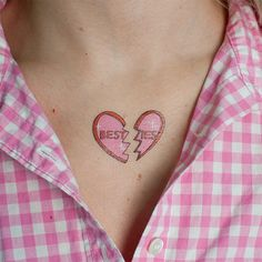 Besties - Valentine's Day Temporary Tattoos ($5)