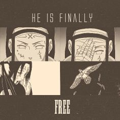 This makes me so sad because the only reason was freed from that curse is because he died... #RIPNejiHyuuga