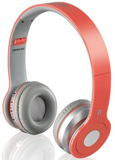 iLive IAHB15B Bluetooth Headphones in Coral  Product Features: 40mm premium headphones with Bluetooth technology Color: Coral Soft and comfortable ear cushions with an adjustable plush headband