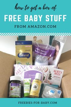 Huge list of baby freebies! Get free baby stuff and baby samples from top baby brands. The baby freebie is . Pregnancy Freebies, Baby Freebies, Babyshower, Free Baby Samples, Baby On A Budget, Free Diapers, Baby Box, My Little Baby, Free Baby Stuff