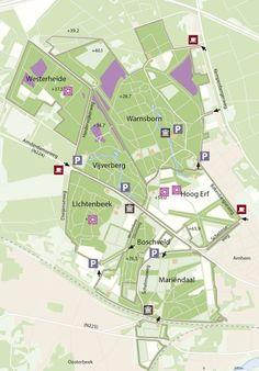 GLK   Landgoed Lichtenbeek en Boschveld Map, Soldiers, Location Map, Maps