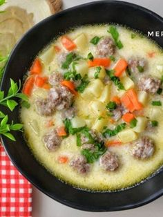 Sour Meatball Soup (Delicious Flavor) - Delicious Recipes Meatballs # Köftetarif of the Best Cheeseburger Recipe, Cheeseburger Chowder, Meatball Soup, Homemade Beauty Products, Yummy Food, Delicious Recipes, Health Fitness, Food And Drink, Vegetables