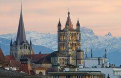 Cathédrale de Lausanne Suisse