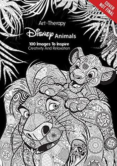 Disney Animals 100 Images To Inspire Creativity And Relaxation Art Therapy By Catherine Star Wars Coloring BookAdult