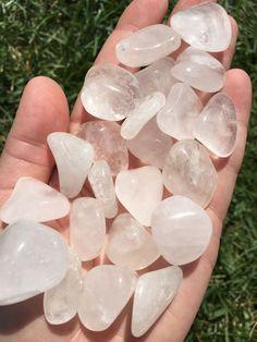 Quartz Crystal Tumbled Stone