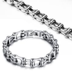 Bikers Stainless Steel Bracelet For Men
