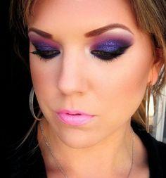 Love the purple glitter