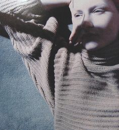 Kirsten Owen photographed by Jean-Francois Lepage for Jil Sander, F/W 1990