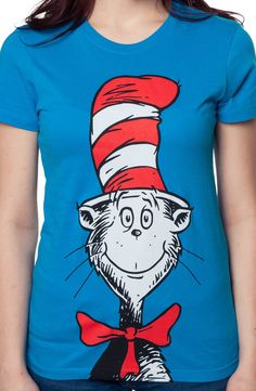Big Cat In The Hat Shirt: Kids Toys Books Dr Seuss T-shirt