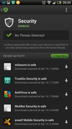 Android security apps - Lookout is a great choice!