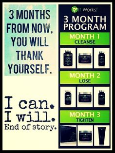 Try our 3 month program and save up to 40% off on product and during your 3 months earn perk points that will give you free product at the end of your 3 months and during your first 30 days you could earn as many boxes of body wraps no limit! For more information on our 3 month program call/text 414-758-0077  3 months from now you will Thank Yourself! #cleanse #detox #energize #weightloss #loseweight #tighten #tone #firm #carbs #fat #tbt #selfie #motivation #instahealth #thursday #love…