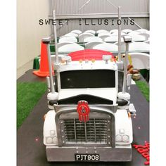 Kenworth t908 Truck Cake - Cake by Sweet Illusions