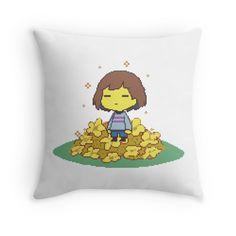 Undertale Pillow by berryman