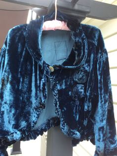 Magnolia Pearl Silk Velvet Jacket