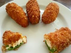 Are you obsessed with jalapeno poppers? Make the jalapeno poppers of your dreams with this amazing recipe. You can't go wrong with serving jalapeno peppers at your next. Cream Cheese Jalapeno Poppers, Jalapeno Popper Recipes, Fried Jalapeno Poppers, Cheddar Cheese, Fried Jalapenos, Cheese Bread, Cream Cheese Stuffed Jalapenos, Cheese Dips, Panko Bread