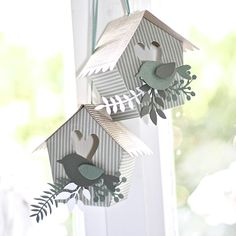 Crafting ideas from Sizzix UK: Bird House