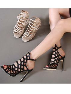 Summer extremely high heel women sandals YS-C5599-Lovelyshoes.net
