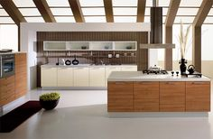 aerre-cucine-meridiana-kitchen-design.jpg. Very well put together. Amazing beams and natural light