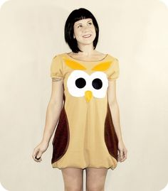 and ANOTHER owl dress. haha