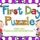 FREEBIE!  This handprint puzzle activity makes a great keepsake and gives the parents a reason to sit with their child and hear all about their first day of ...