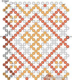 бисерная сетка схемы - Поиск в Google