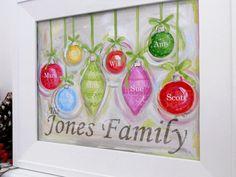 SALE Custom Christmas ornament 8x10 print free by poshpaints, $12.00