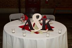 Centerpiece for sweetheart table