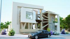 Contemporary Private Villa in New Cairo by Nada Elhadedy - Design Ideas