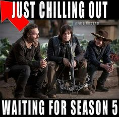 Waiting for TWD....hurry up:)