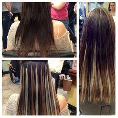 HAIR EXTENSIONS BY TORI CAPUTO: full head of Socap hair extensions! 100% remy human hair! toricaputo@yahoo.com
