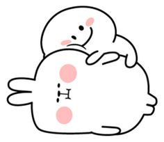 For you who are plump. Cute Bear Drawings, Cute Little Drawings, Cute Cartoon Drawings, Cute Kawaii Drawings, Girl Cartoon Characters, Cartoon Memes, Cute Characters, Cute Love Gif, Cute Love Pictures