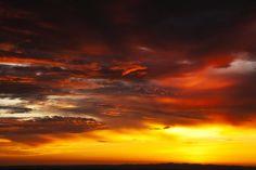 "Robert Arrington's ""Transmountain Sunrise,"" El Paso, TX 2011"