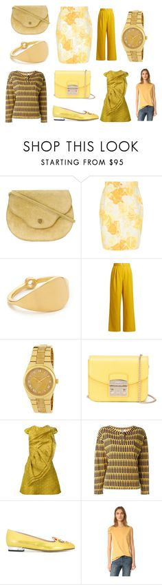 """""""fresh fashion"""" by kristen-stewart-2989 ❤ liked on Polyvore featuring Hermès, Versace, Elizabeth and James, TIBI, MICHAEL Michael Kors, Furla, Christian Siriano, Stephen Sprouse, Charlotte Olympia and Helmut Lang"""