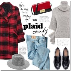 Plaid comfy with Yoins by mada-malureanu on Polyvore featuring moda, Dickies, Zara and Michael Kors