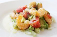 This Avocado and Shrimp Salad is an absolute favorite around my house