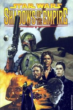 The comic book version of the original Shadows of the Empire novel