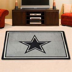 Dallas Cowboys 3'10'' x 5'4'' Football Rug