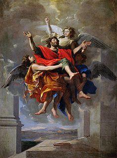 Title: The Vision of St. Paul, c.1649/50 Artist: Nicolas Poussin Medium: Canvas Print