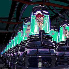 Cyberpunk, Pastel Pixie, Anime Pixel Art, Pix Art, 8 Bits, Pixel Art Games, Cybergoth, Aesthetic Gif, Retro Videos
