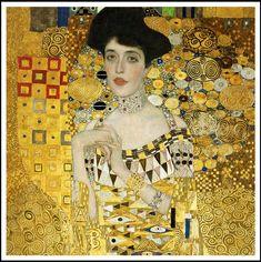 Gustav Klimt and Adele Bloch-Bauer: The Woman in Gold Gustav Klimt, Art Klimt, Famous Modern Art, Art Nouveau, Woman In Gold, Rise Art, Oil Painting Reproductions, Illustrations, Oeuvre D'art